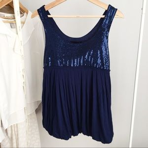 FOREVER 21 Sequins Tank Top